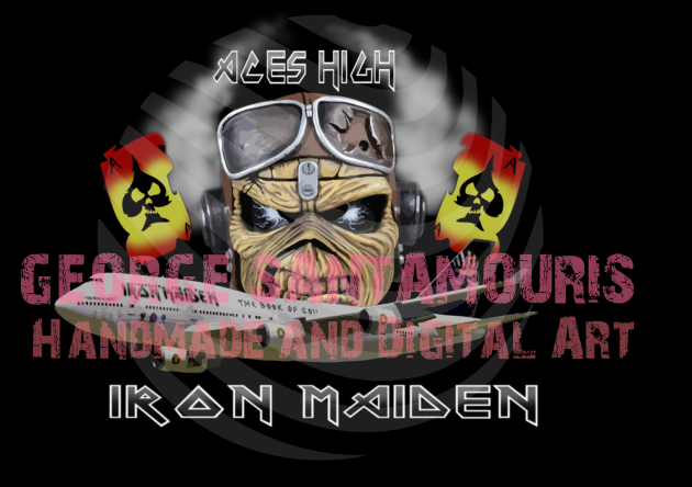 Iron Maiden by SANTAMOURIS1978