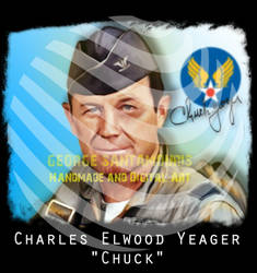 Charles Elwood Yeager Chuck by SANTAMOURIS1978