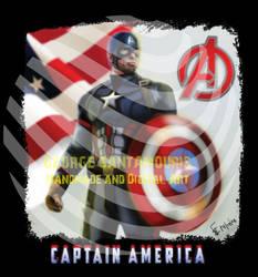 Captain America  by SANTAMOURIS1978