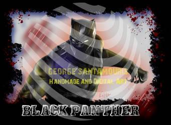 Black Panther by SANTAMOURIS1978