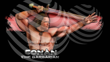 CONAN THE BARBARIAN by SANTAMOURIS1978