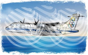 ATR 42/320 OLYMPIC AIRWAYS .