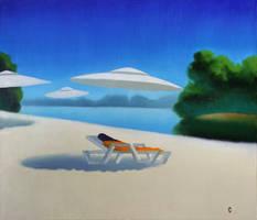 UFO painting