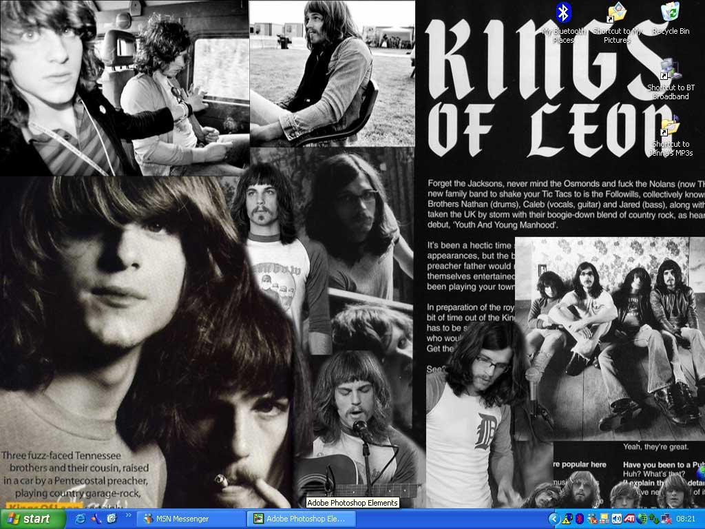 Kings of Leon desktop by fake-sincerity
