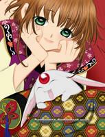 Sakura and Mokona by kntfan010