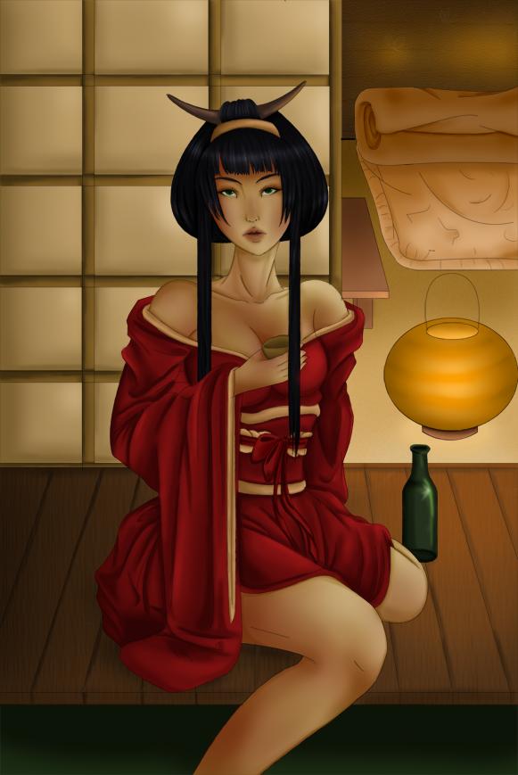 Geisha by yoco-chan