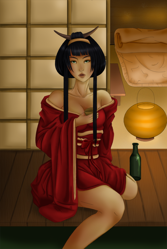 Geisha by Dracuria