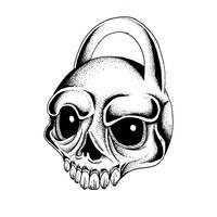 Bouncy skull by Dracuria