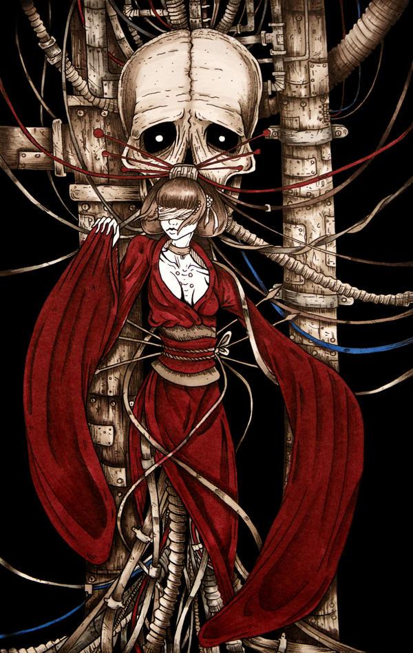 Cyber gheisha by Dracuria