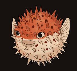 Pufferfish by Dracuria