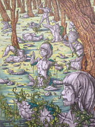 Medusa's Garden by Dracuria