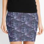 Purple Skirt by Dracuria