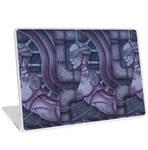 Purple Laptop by Dracuria