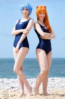 Rei Asuka Swimsuit by Lye1