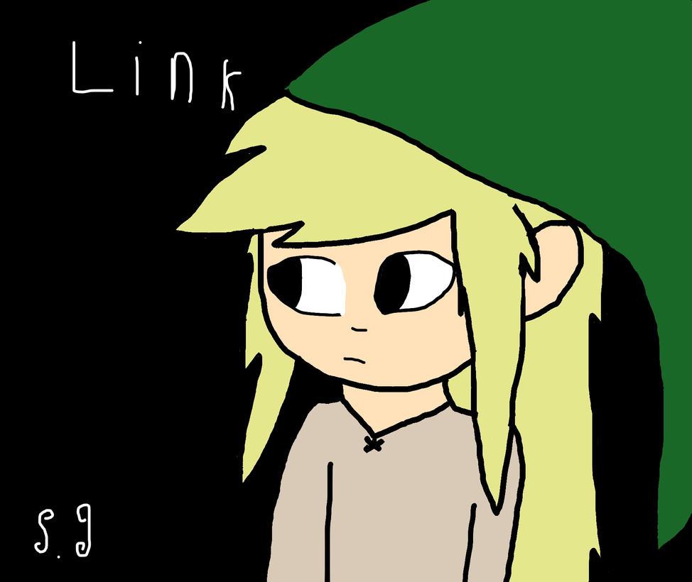 Link Fanart by Shotgungamer8