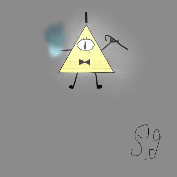 Bill Cipher Fan Art by Shotgungamer8