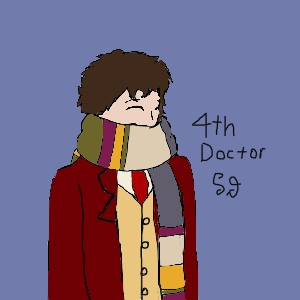 4th Doctor Fanart by Shotgungamer8