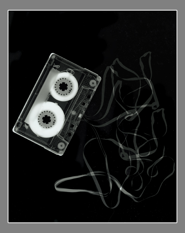 Cassette Photogram by xxqueenxofxskemexx