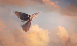 In the sky. by mrmichaelissebastian