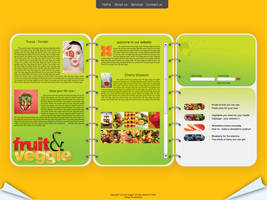 fruit and veggie by esctatica