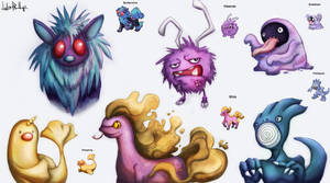 Pokefusions by Phillippeaux