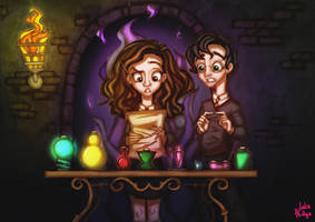 Through The Trapdoor: Potions