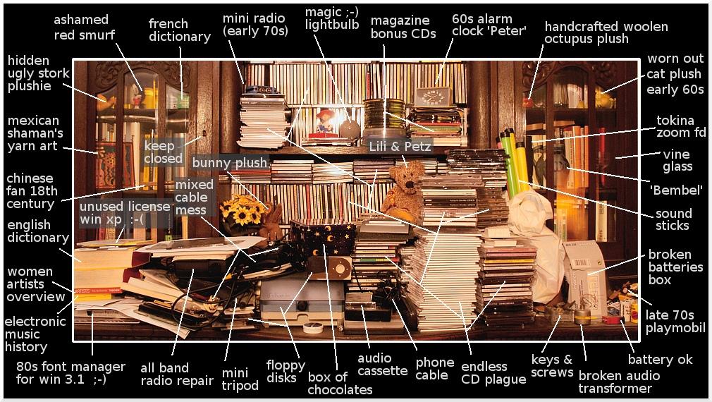 My Desk ... by berzelmeier