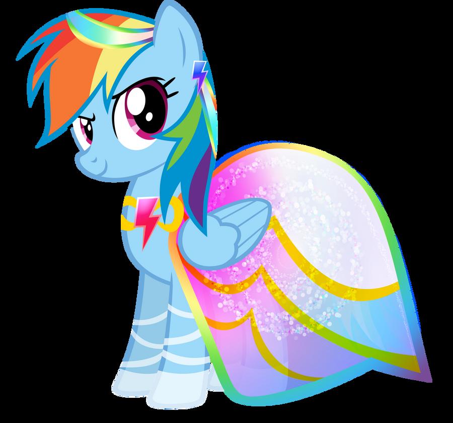 Rainbow Dash - Summer Dress by KibbieTheGreat
