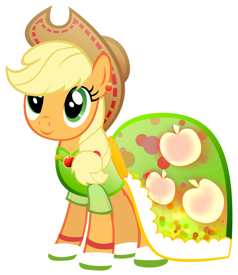 Applejack - The Mane Dress Project by KibbieTheGreat