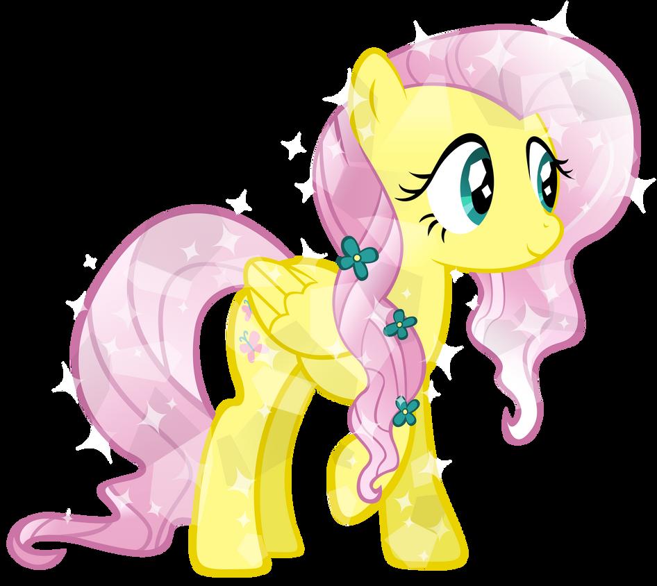 Crystal Fluttershy by KibbieTheGreat