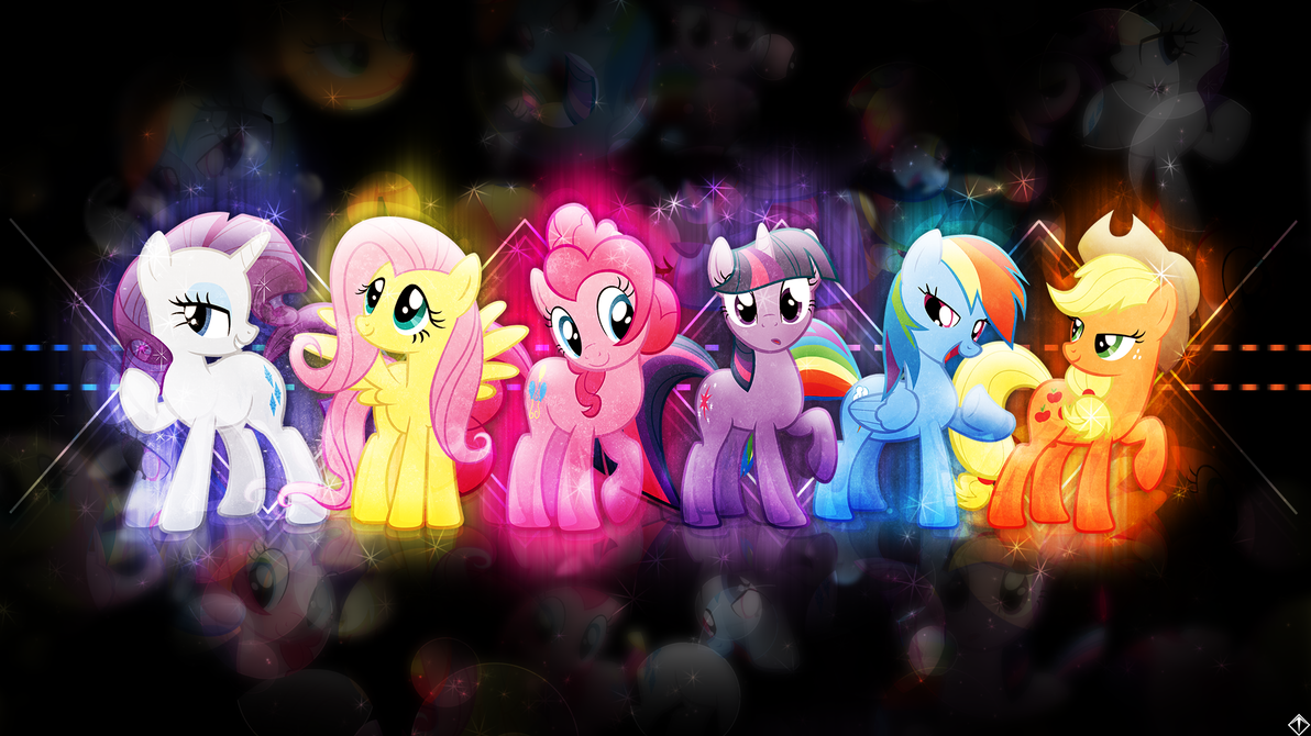 android mane 6 wallpaper - photo #38