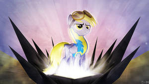 Derpy The Wonderbolt - {Collab with Mackaged}