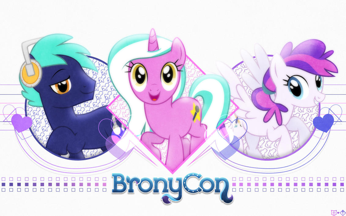 BronyCon Mascots - VIP by KibbieTheGreat