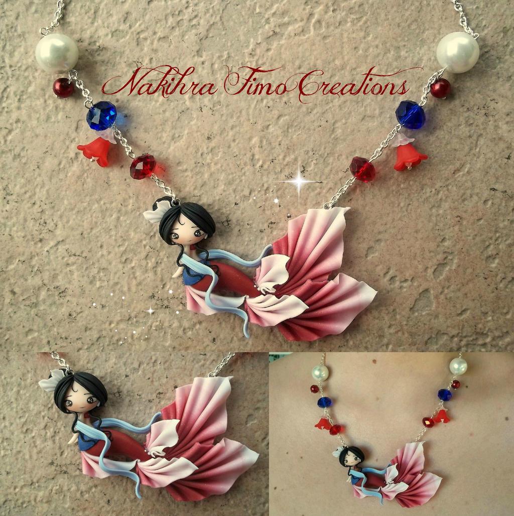 Mulan Mermaid Princess by Nakihra