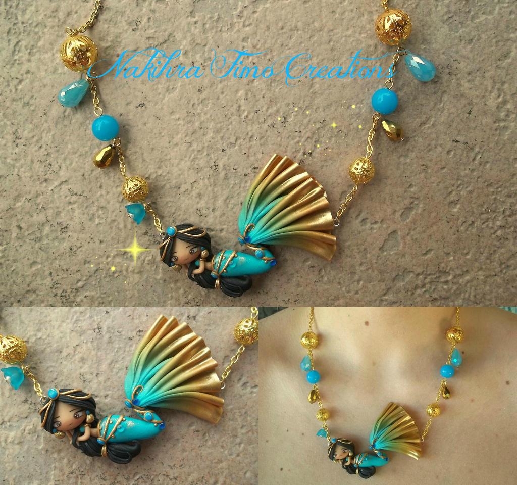 Jasmine Mermaid Princess