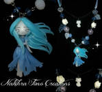 Little ghost polymer clay