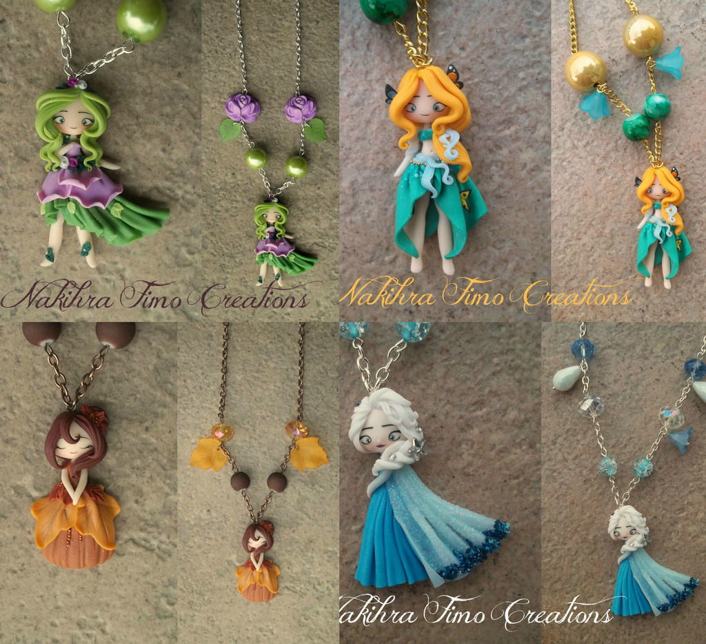 The Four Seasons Polymer Clay by Nakihra