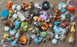 Earrings Charms by Nakihra