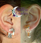 Cute Kittens Earrings