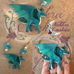 Saphira dragon polymerclay