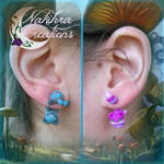 Cheshire Cats Earrings