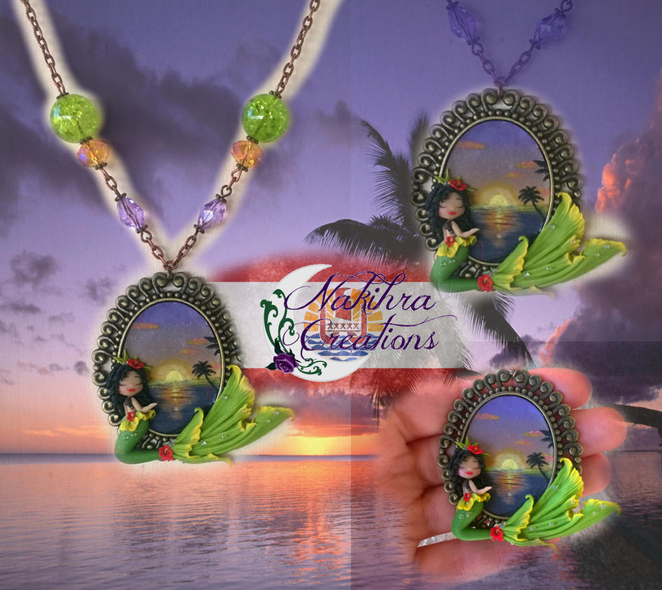 Mermaid from Polinesia by Nakihra