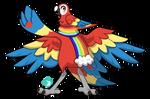 Bavom #233 - Scarlet Macaw