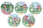 [Mallow and Ophelia] Gardening Trial