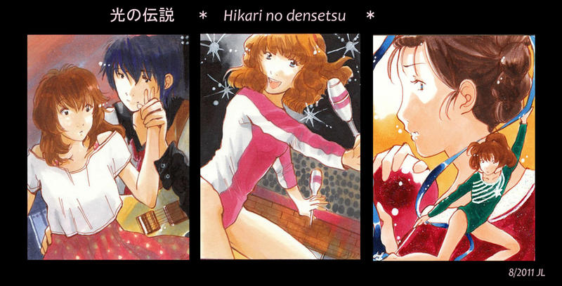 Hikari no Densetsu ACEO by Toffi-Fee