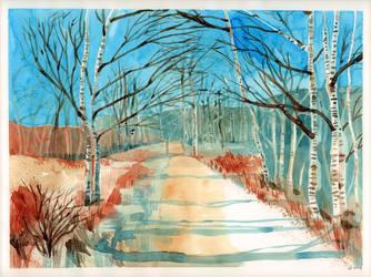 Birkenwald by Toffi-Fee
