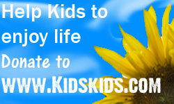 kidskids.com logo promotion by elvenbladerogue