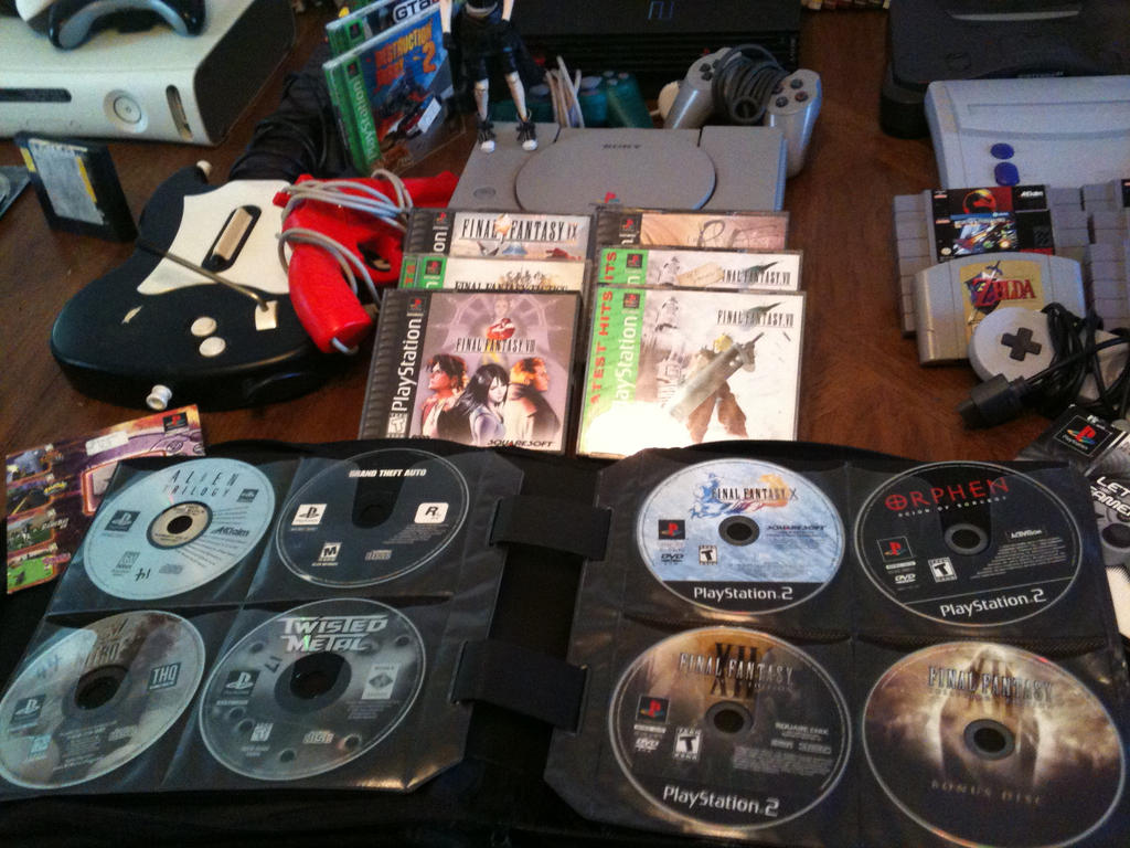Video Game Collection 2015 Ps1 Ps2 Lose Ps1 Ps2 By