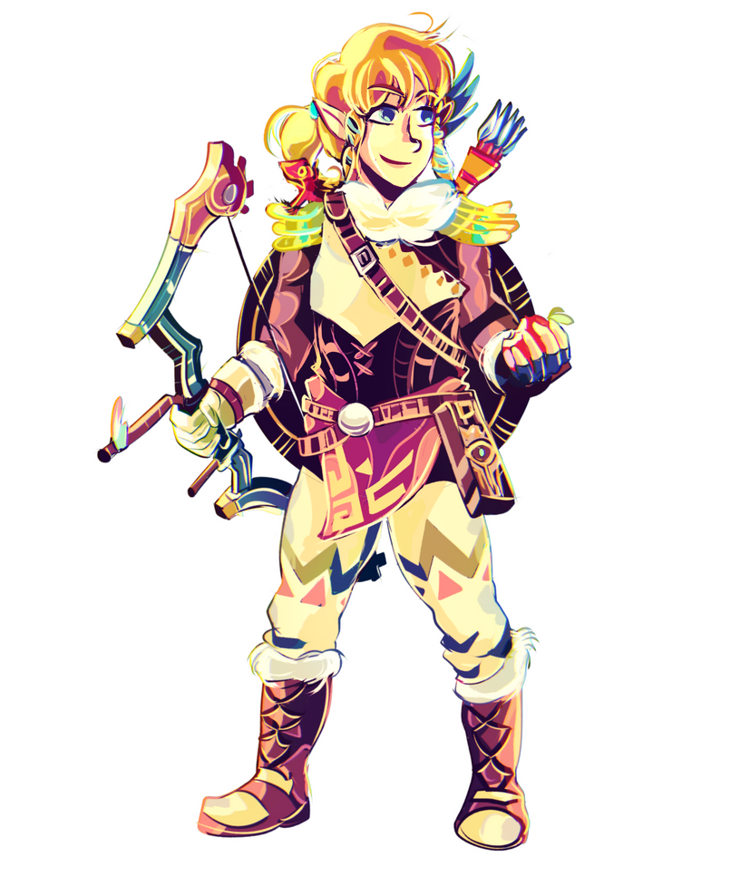 Link Snowquill Set by MarlonLeal