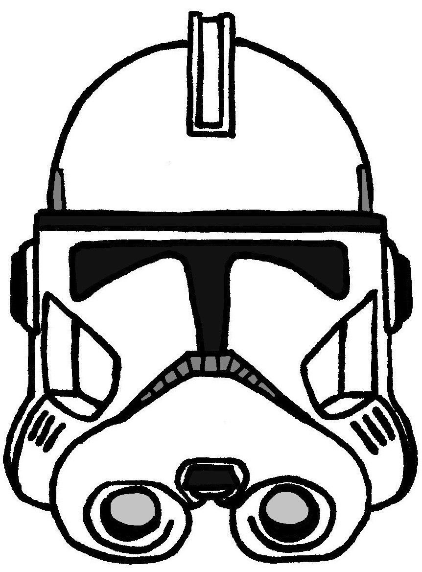 Clone trooper helmet phase 2 by historymaker1986 on deviantart for Clone trooper coloring pages